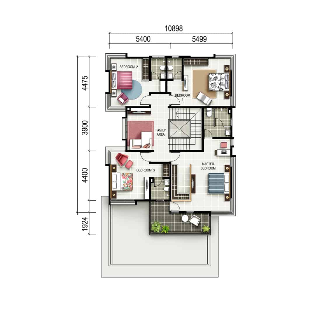 2 Storey Bungalow (First)
