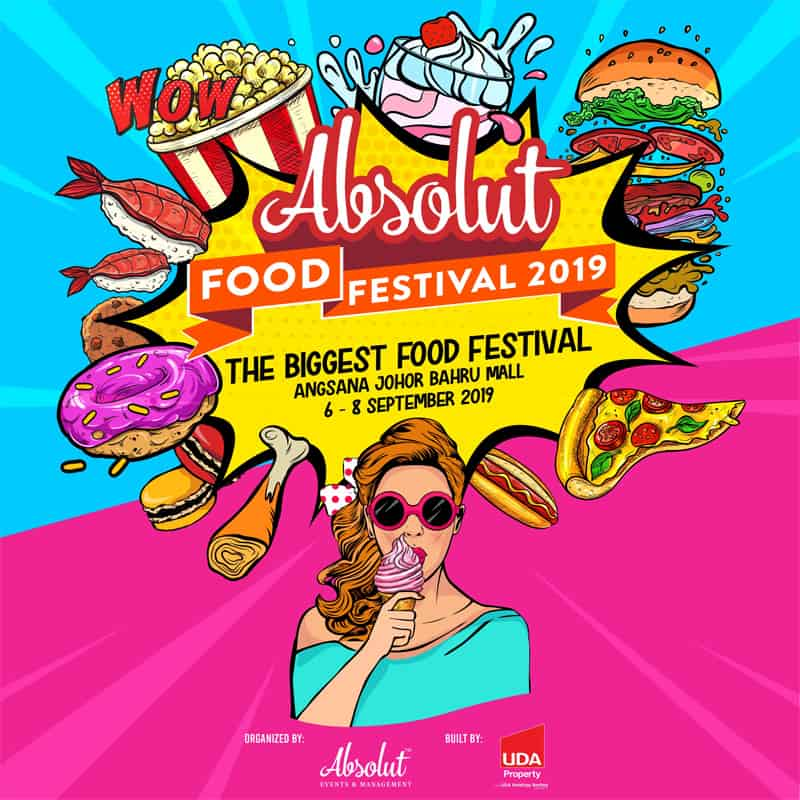 Sept 6 – 8, Absolut Food Festival 2019 1