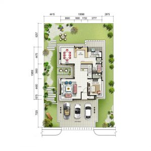 2 Storey Bungalow (Ground)