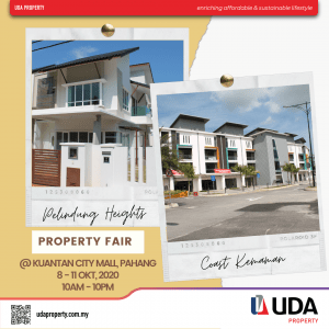 Oct, 8 -11, Property Fair @ Kuantan City Mall, Pahang 1